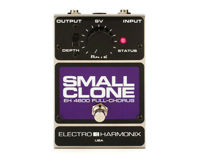 Electro-Harmonix Classics Small Clone Analog Chorus Guitar Effects Pedal