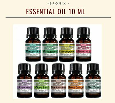 Essential Oil Gift Set 9 Aromatherapy Oil Therapeutic Grade 10 mL