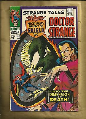 Strange Tales 152 VFN- 1966 2nd Steranko SHIELD Marvel Comics SILVER AGE