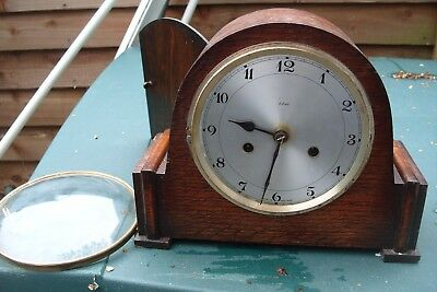 Mantel Clock  Smiths  Enfield  Striking  Clock