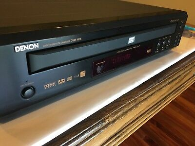 denon dvm 1815 dvd video auto changer service manual