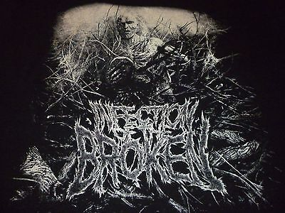 Infection Of The Broken Shirt ( Used Size L ) Nice Condition!!!