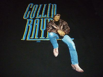 Collin Raye Vintage Tour Shirt ( Used Size L ) NEW Deadstock!!!