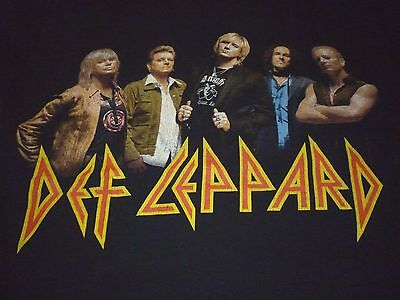 Def Leppard Tour Shirt ( Used Size M ) Good Condition!!!