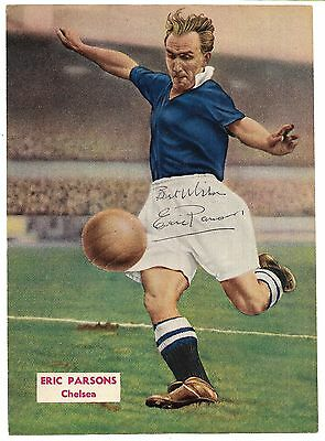 Chelsea - Eric Parsons Signed