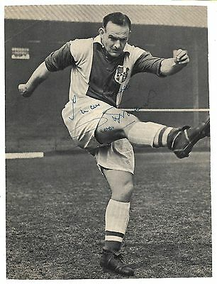 Oldham - George Hardwick Player Manager Signed