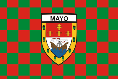 County Mayo Chequered  Flag 150 Cm X 90 Cm