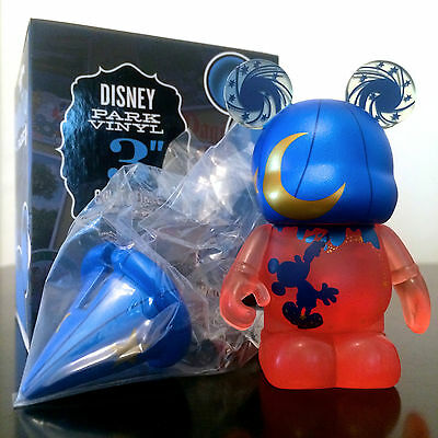 """Disney Vinylmation 3"""" Park 8 Series 100 Years Of Magic Red Mickey Mouse Sorcerer"""