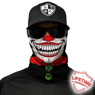 Clown Face Face Mask. Free Shipping in Canada.