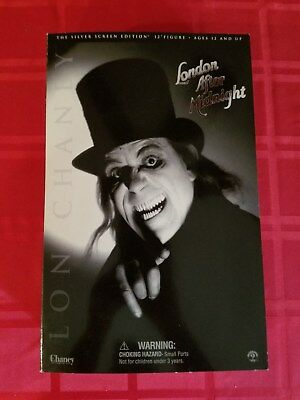 2002 Sideshow Toy Lon Chaney London After Midnight Silver Screen Edition horror