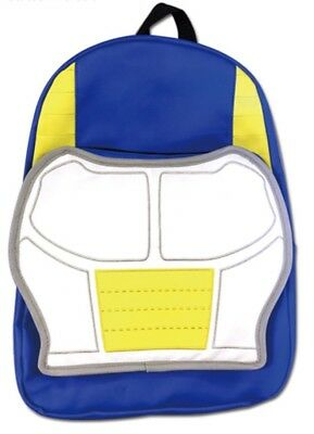 *NEW RELEASE* Dragon Ball DBZ VEGETA SAIYAN ARMOR Backpack NWT AUTHENTIC *RARE*