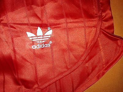 ADIDAS Vintage Glanz Polyester Running Shorts, 80's Sprinter's collection