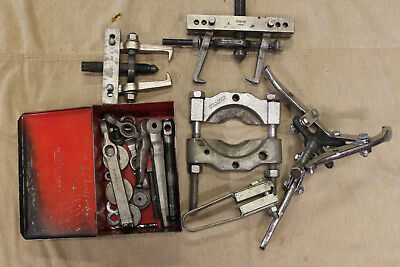 Snap-On Proto Mac Gear And Pulley Puller Set Used Condition With Extras Lot