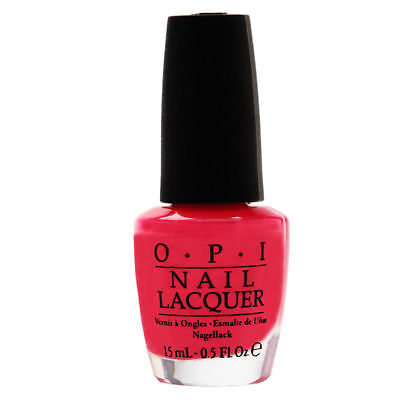 OPI Nail Lacquer Mexico Collection NLM23 - Strawberry Margarita Brand New