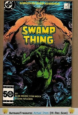 Swamp Thing #38 (9.2) NM- 2nd John Constantine Hellblazer App 1985 Key Issue