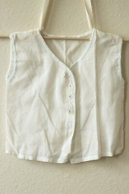 Vintage Embroidered Baby Top