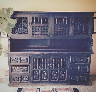 Antique Mexican Sideboard 6' x 6' 6""