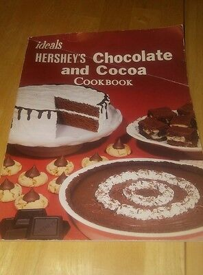 Preowned Vintage Retro Hershey's Chocolate and Cocoa Cookbook (1985, Paperback)