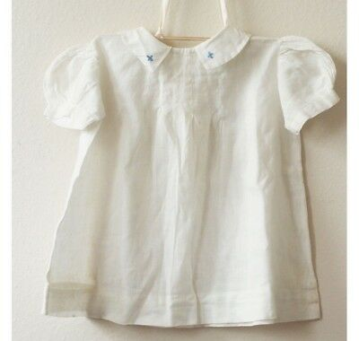 Vintage Embroidered Baby Girl Dress