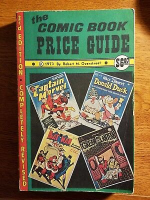 OVERSTREET COMIC BOOK PRICE GUIDE 3rd EDITION - 1973  G-VG