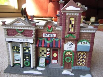 Riverside Row Shops - Dept 56 Christmas in the City Heritage Village