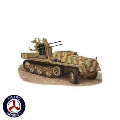 Bronco 1/35 sWS with 20mm Flakviering 38 CB35213 Brand New