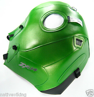 Kawasaki ZX-14R Bagster TANK COVER ZX14 green PROTECTOR ZX 14 in STOCK new 1684A