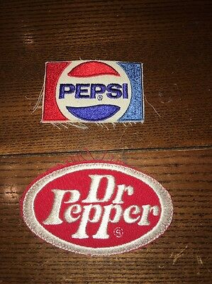 (2) 1980 Pepsi Employee Patches