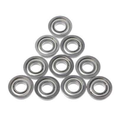 10Pcs F688ZZ Mini Double Metal Shielded Flanged Ball Bearing For 3D Printer Part