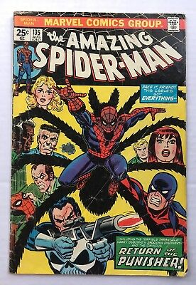 The Amazing Spider-Man #135 FR/GD (Aug 1974, Marvel)