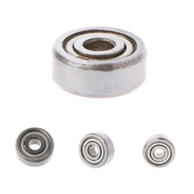 623ZZ 3mmx10mmx4mm Double Shielded Flanged Ball Bearings For 3D Printer 10pcs