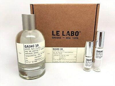 Le Labo - Gaiac 10 Edp Tokyo City Exclusive (Travel Size 6Ml,10Ml) Free Shipping
