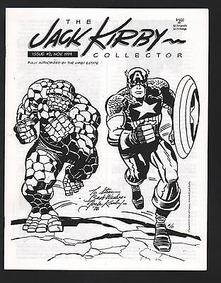 The Jack Kirby Collector Magazine #2 NM- 9.2 White Pages