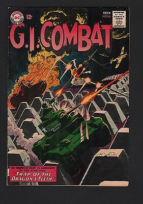 G.I. Combat #98 VG+ 4.5 Cream to Off White Pages Grey Tone Cover