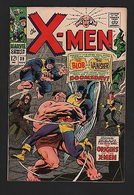 X-Men #38 F+ 6.5 Off White Pages