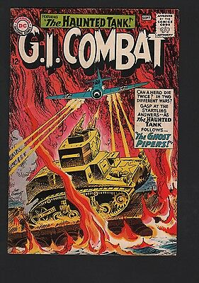 G.I. Combat #107 G/VG 3.0 Cream to Off White Pages Grey Tone Cover