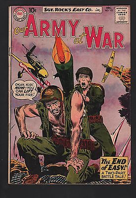 Our Army at War #101 VG 4.0 Off White Pages 1st Buster