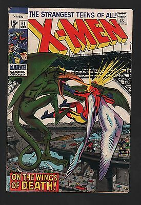X-Men #61 VG 4.0 Off White to White Pages