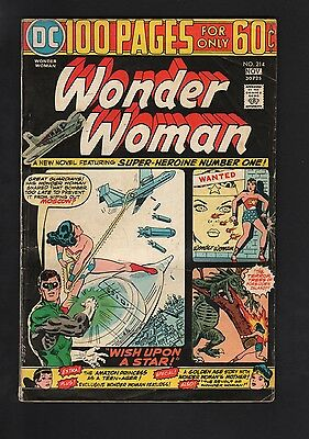 Wonder Woman #214 VG- 3.5 Cream to Off White Pages