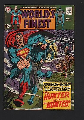 World's Finest #181 VG 4.0 Off White Pages