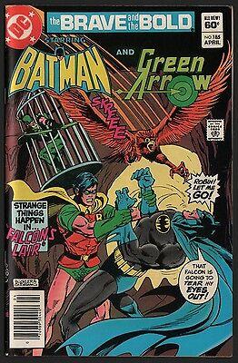Brave and the Bold #185 VF 8.0 Cream Pages