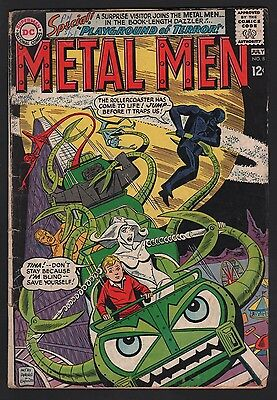 Metal Men #8 G 2.0 Off White Pages