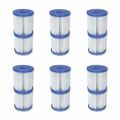 6 Pack Flowclear Filter Cartridge Type I for 330GPH Filter Pump 58381