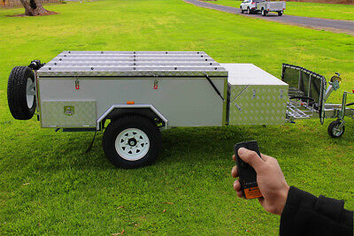 Brand New Off Road Forward Folding Hard Floor Camper Trailer Caravan 4X4 4WD