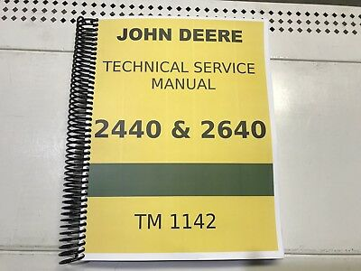 2640 John Deere Technical Service Shop Repair Manual