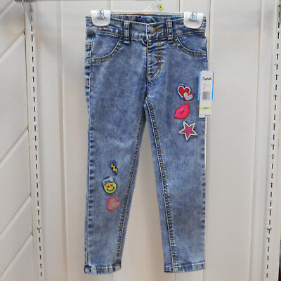 Girls Flapdoodles Size 4 5 6 & 6X $36 Stone Washed Jeans