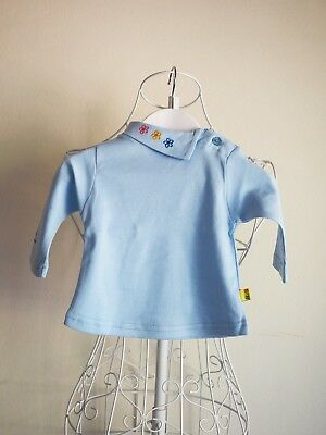 """""""Born 2 Succeed"""" Size 000 - Blue Baby Girls Skivvy Top - BNWT! Bargain Price."""