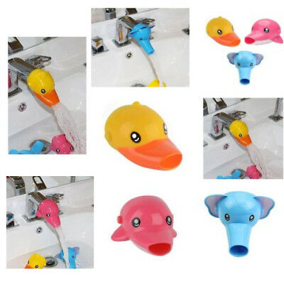 Faucet For Kids Bathroom Baby Water Cartoon Animals Sink Lovely Washing Handle