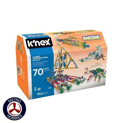 KNex Classic Constructions 70 Model Set KN17435 Brand New