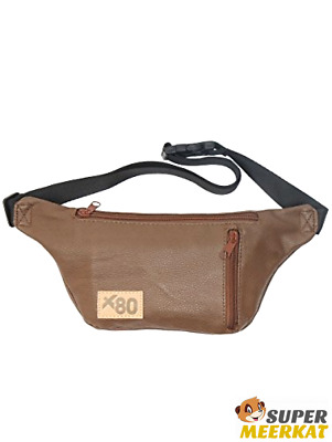 Fanny Pack Leather Waist Bag Small Sport Fashion Travel Cell Phone Cycling Faux